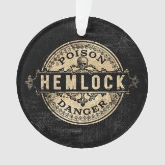 Hemlock Vintage Style Poison Label