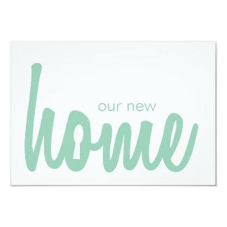 Hemlock & White Home Key Lock Housewarming Invite