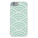 Hemlock & White Scallop Pattern iPhone 6 Case