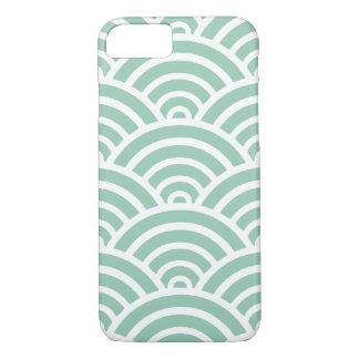 Hemlock & White Scallop Pattern iPhone 7 Case