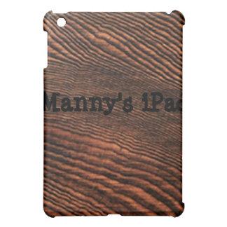 Hemlock Wood Grain iPad case *Personalize*