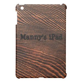 Hemlock Wood Grain iPad Mini case *Personalize*