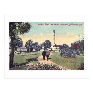 Hemming Park Jacksonville Fl Vintage Postcard