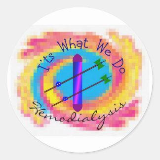 Hemodialisis es lo que lo hacemos regalo de la e etiquetas