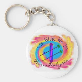 """Hemodialysis """"It's What We Do"""" Dialysis Nurse Gift Key Chains"""