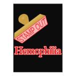 "Hemophilia 5"" X 7"" Invitation Card"