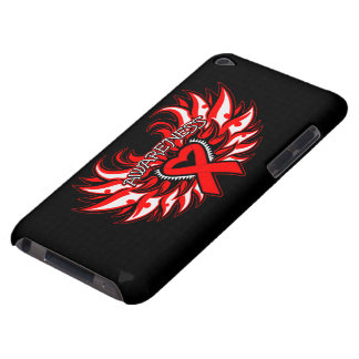 Hemophilia Awareness Heart Wings Barely There iPod Cover