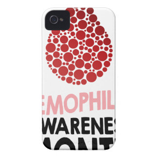 Hemophilia Awareness Month - Appreciation Day iPhone 4 Case-Mate Case