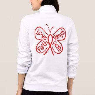 Hemophilia Butterfly Inspiring Words Jackets