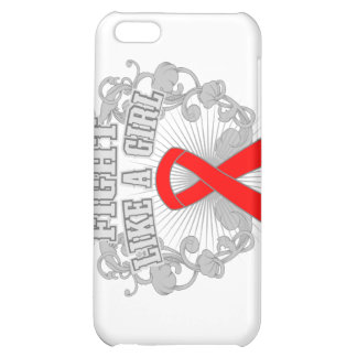 Hemophilia Fight Like A Girl Fleurish Cover For iPhone 5C