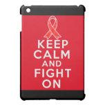 Hemophilia Keep Calm and Fight On iPad Mini Case