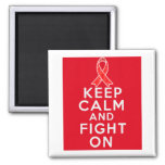 Hemophilia Keep Calm and Fight On Magnets