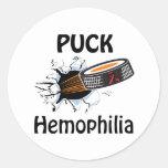 Hemophilia Round Sticker