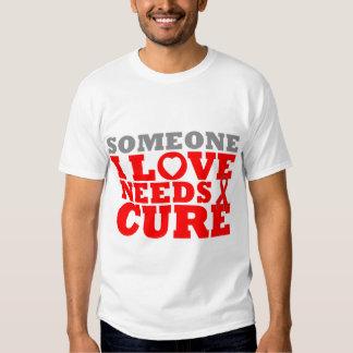 Hemophilia Someone I Love Needs A Cure T-shirt
