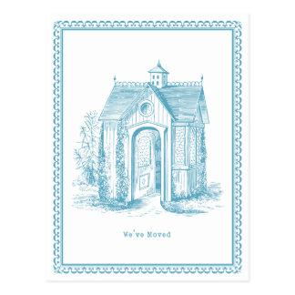 Hemos movido el azul de la postal de la casa del