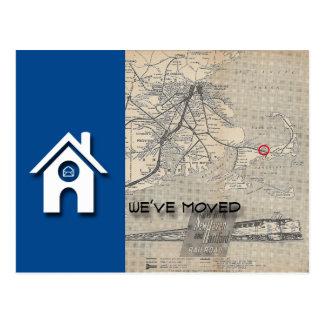 Hemos movido la casa y el mapa substituye por su postal