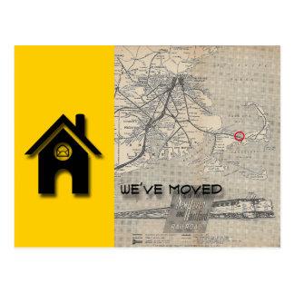 Hemos movido la casa y el mapa substituye por su postales