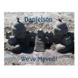 Hemos movido la invitación de la playa tarjetas postales