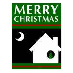 hemos movido la invitación de las Felices Navidad Tarjeta Postal