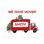Hemos movido la postal con la furgoneta móvil