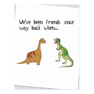 Hemos sido amigos tarjetas postales