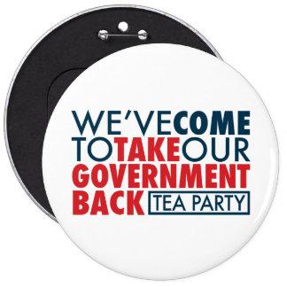 Hemos venido retirar a nuestro gobierno pin