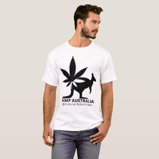 Hemp Australia Agricultural Reform Now T-shirt