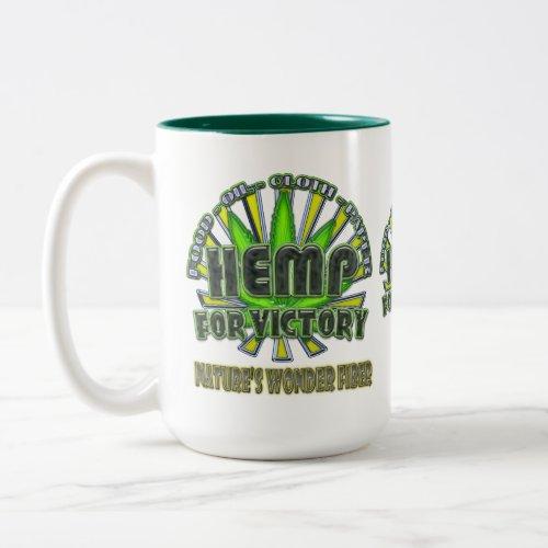 Hemp for Victory Mug mug
