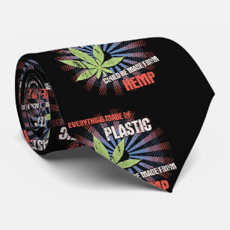 Hemp Plastic Neck Tie