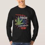Hemp Plastic T Shirt