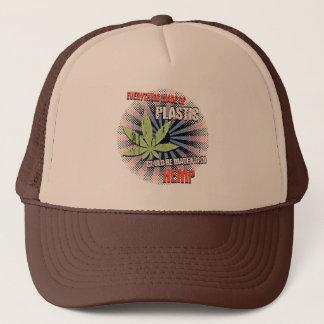 Hemp Plastic Trucker Hat