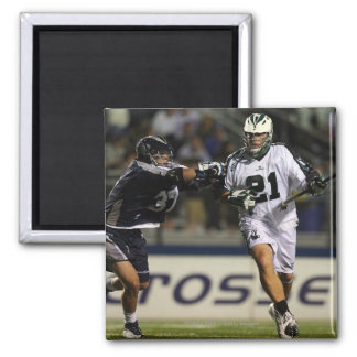 HEMPSTEAD, NY - MAY 21:  Chris Fiore #21 2 Inch Square Magnet
