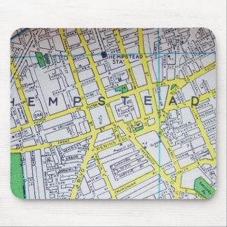 Hempstead, NY Vintage Map Mouse Pad