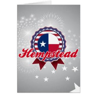 Hempstead, TX Felicitación