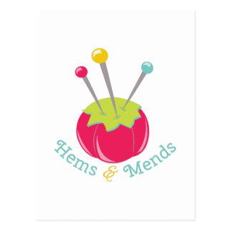 Hems & Mends Postcard