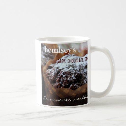 Hemsley's Dark Chocolate Cake Coffee Mug