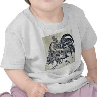 Hen and chick by Utagawa, Toyohiro Ukiyoe T Shirt