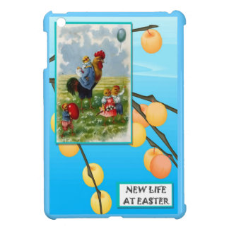 Hen and chicks case for the iPad mini