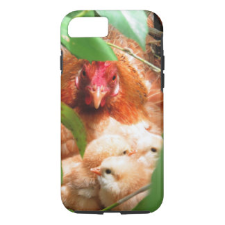 Hen and Chicks iPhone 8/7 Case
