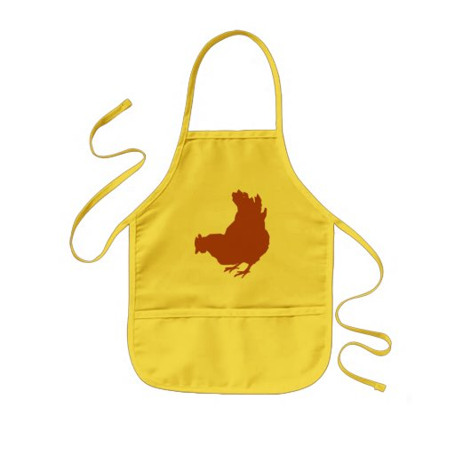 Hen [chicken, farmer, organic eggs] aprons