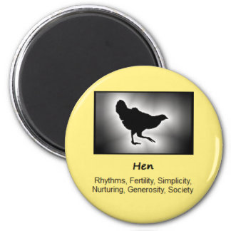 Hen Chicken Totem Animal Spirit Meaning Magnet