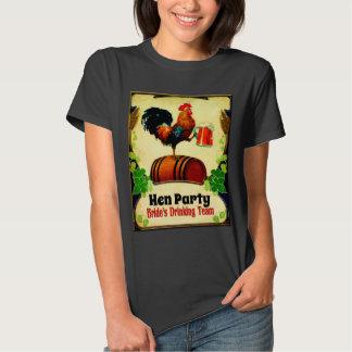 Hen do, brides drinking team T-Shirt