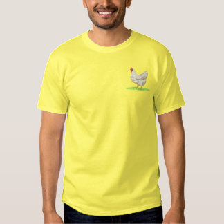 Hen Embroidered T-Shirt