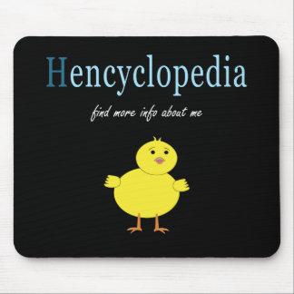 Hen Encyclopedia Mouse Pad