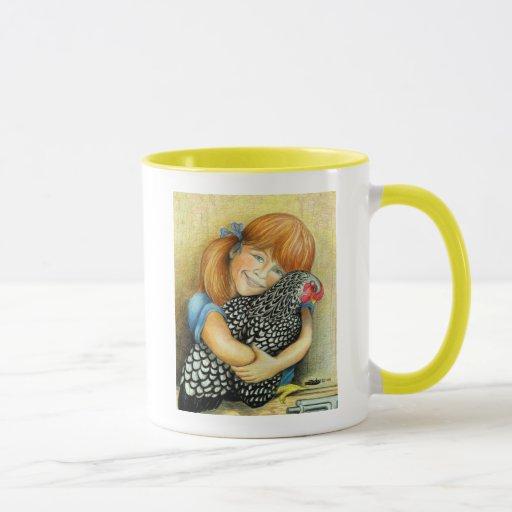 Hen Hugger Mug