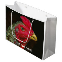 Hen Large Gift Bag