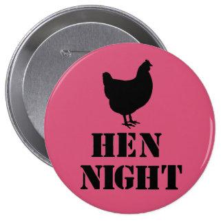 """""""Hen Night"""" badge Button"""