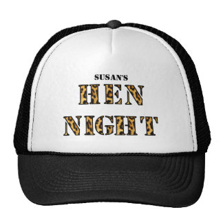 """Hen night hats - """"Leopard Spots"""""""