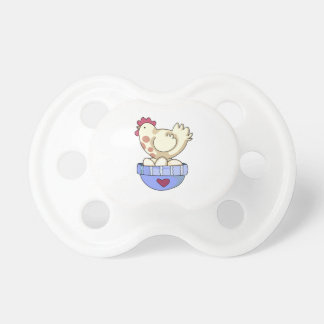 HEN ON BOWL OF EGGS PACIFIER