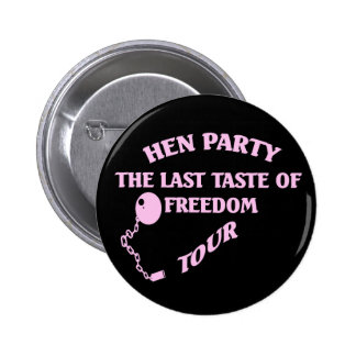 Hen Party Pin